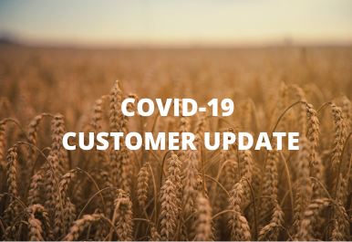 COVID-19 CUSTOMER UPDATE