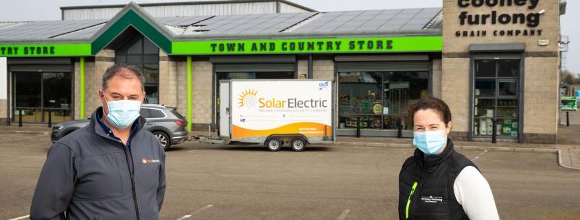 Cooney Furlong install Solar PV Panels